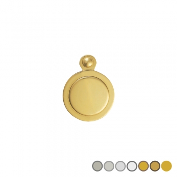 Standard Covered Keyhole Escutcheon