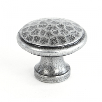 Anvil Pewter Beaten Cupboard Knob
