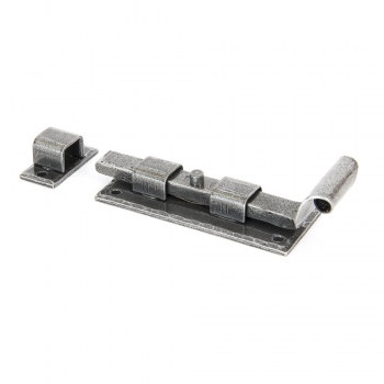Anvil Pewter Straight Door Bolt