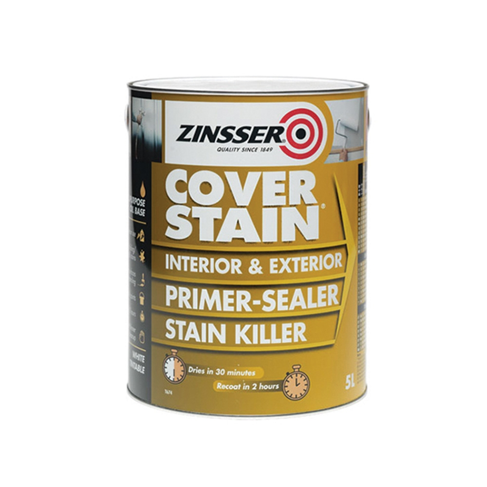 Zinsser Cover Stain Primer Sealer - 2.5L
