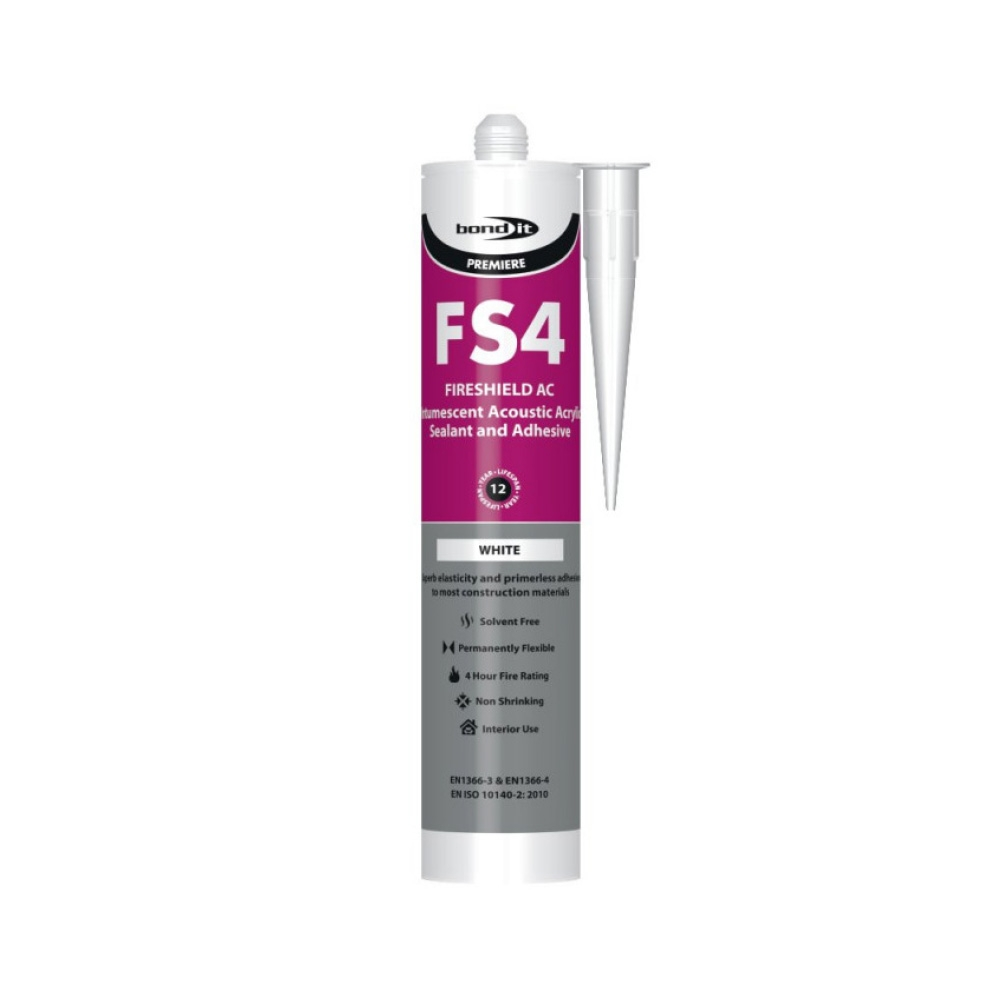 Intumescent Acrylic Sealant - White - 310ml