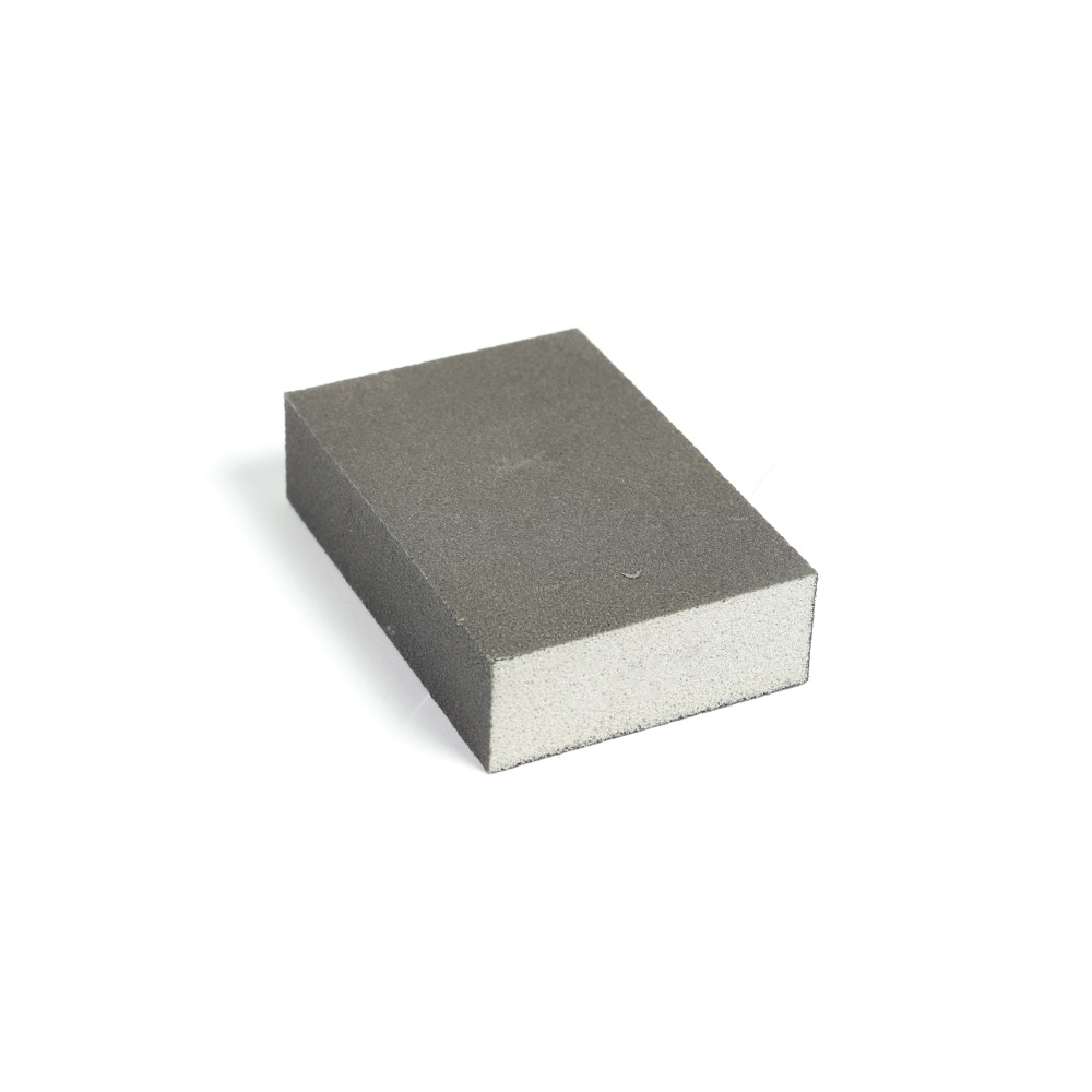 4 Sided Foam Sanding Block 100 x 70 x 27mm 180g