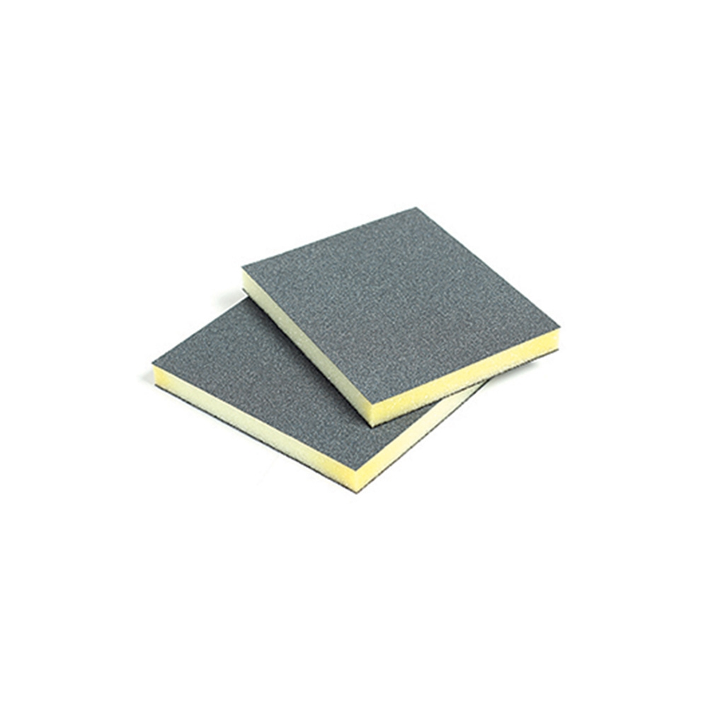 Double-Sided Foam Abrasive Pad - 97 x 123 x 12mm - 60g