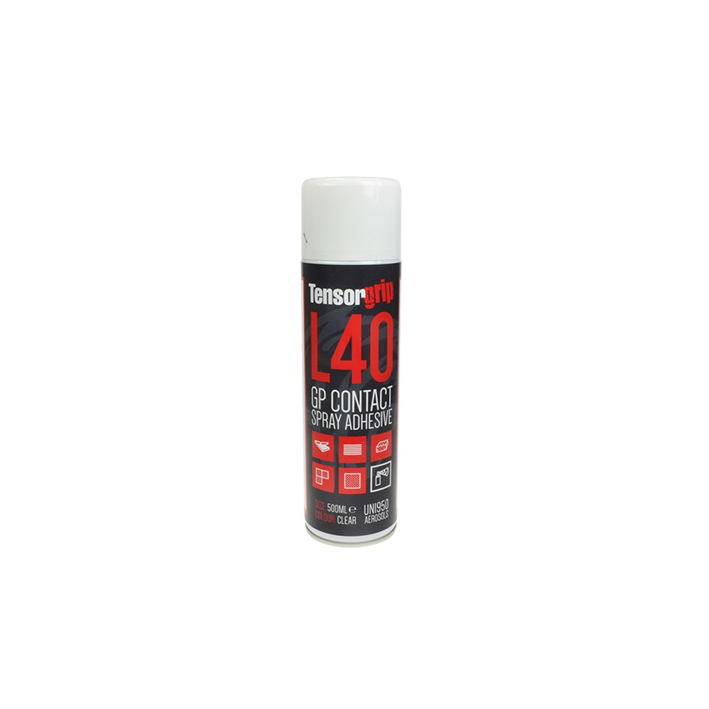 Tensorgrip L40 GP Contact Spray Adhesive 500ml Aerosol