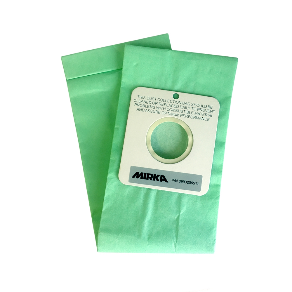 Mirka Dustbag Paper for ROS/OS DB Machine - Pkt/10