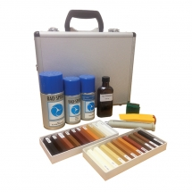 Briwax Soft/Hard Wax Kit - c/w Lacquer and Heating Iron