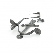 Anvil Pewter Medium Bean Thumblatch
