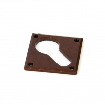 Anvil Bronze Diamond Euro Escutcheon