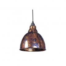 Anvil Burnished Brindley Pendant