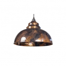 Anvil Burnished Harborne Pendant