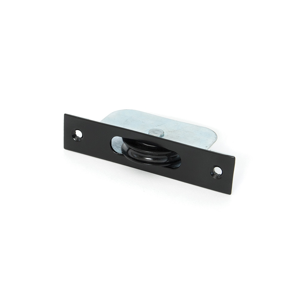 Anvil Black Square Ended Sash Pulley 75kg