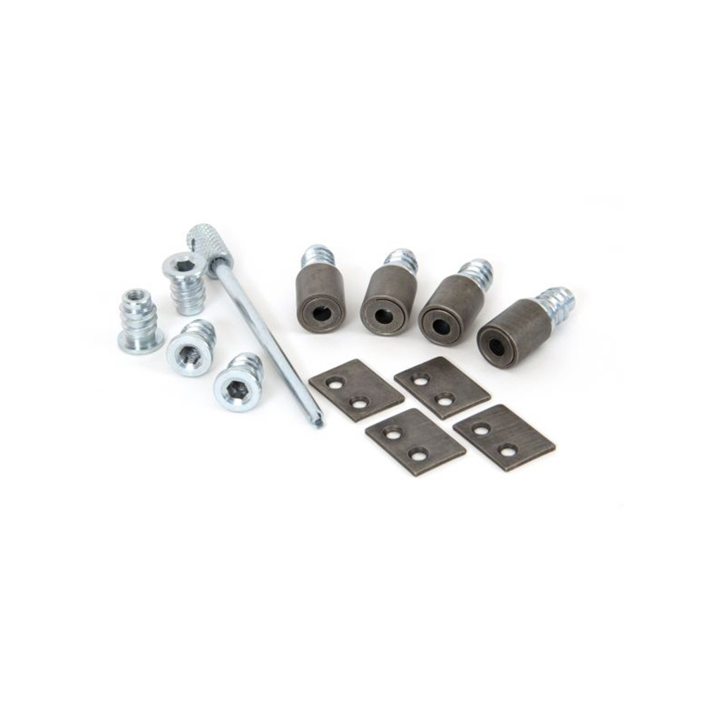 Anvil Antique Pewter Secure Stops (Pack of 4)