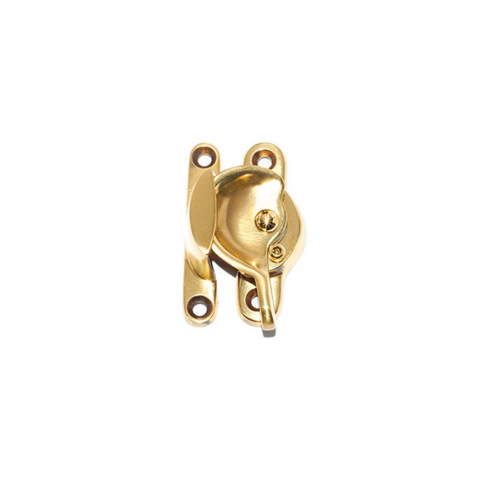 Traditional Fitch Fastener Locking Polished Brass