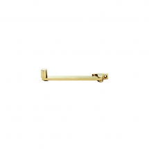 6inch/150mm Roller Arm Stay Polished Brass