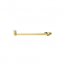8inch/203mm Roller Arm Stay Polished Brass