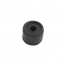 Black Rubber Door Stop 27mm - Each