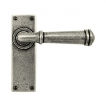 Finesse Durham Lever Latch Furniture Pewter