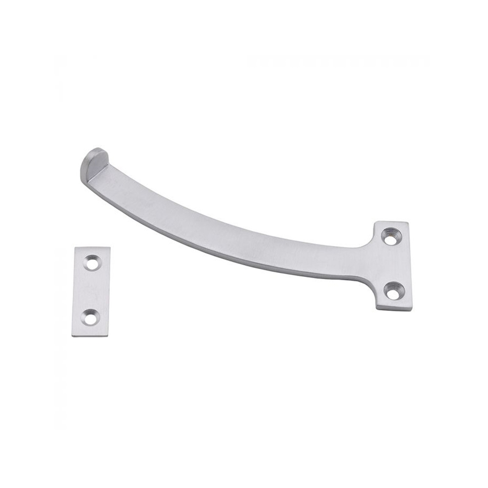 Satin Chrome 150mm Quadrant Stay (Pair)