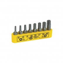 Screwdriver Bit Set - Torx - T8-T40