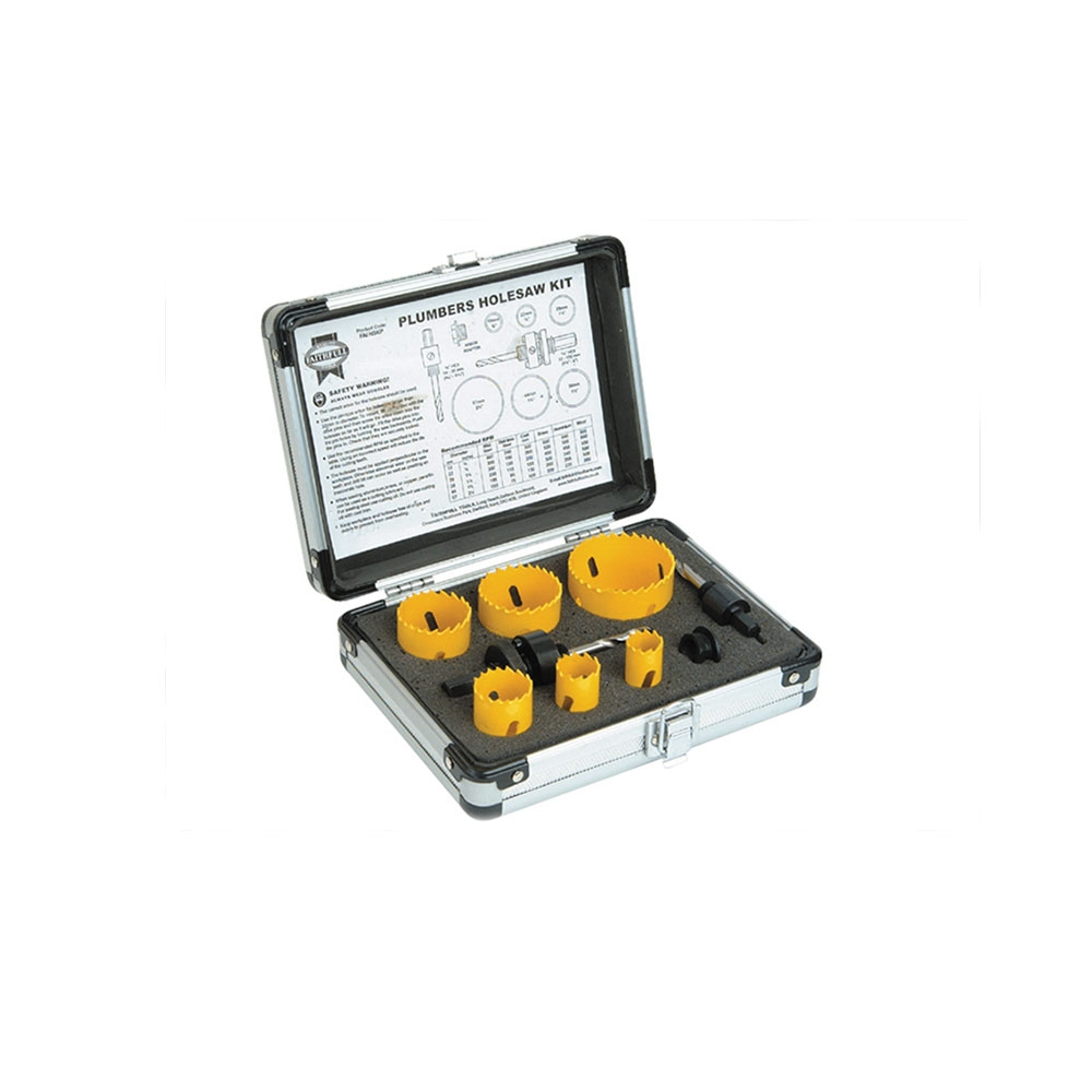Holesaw Kit - 9pc
