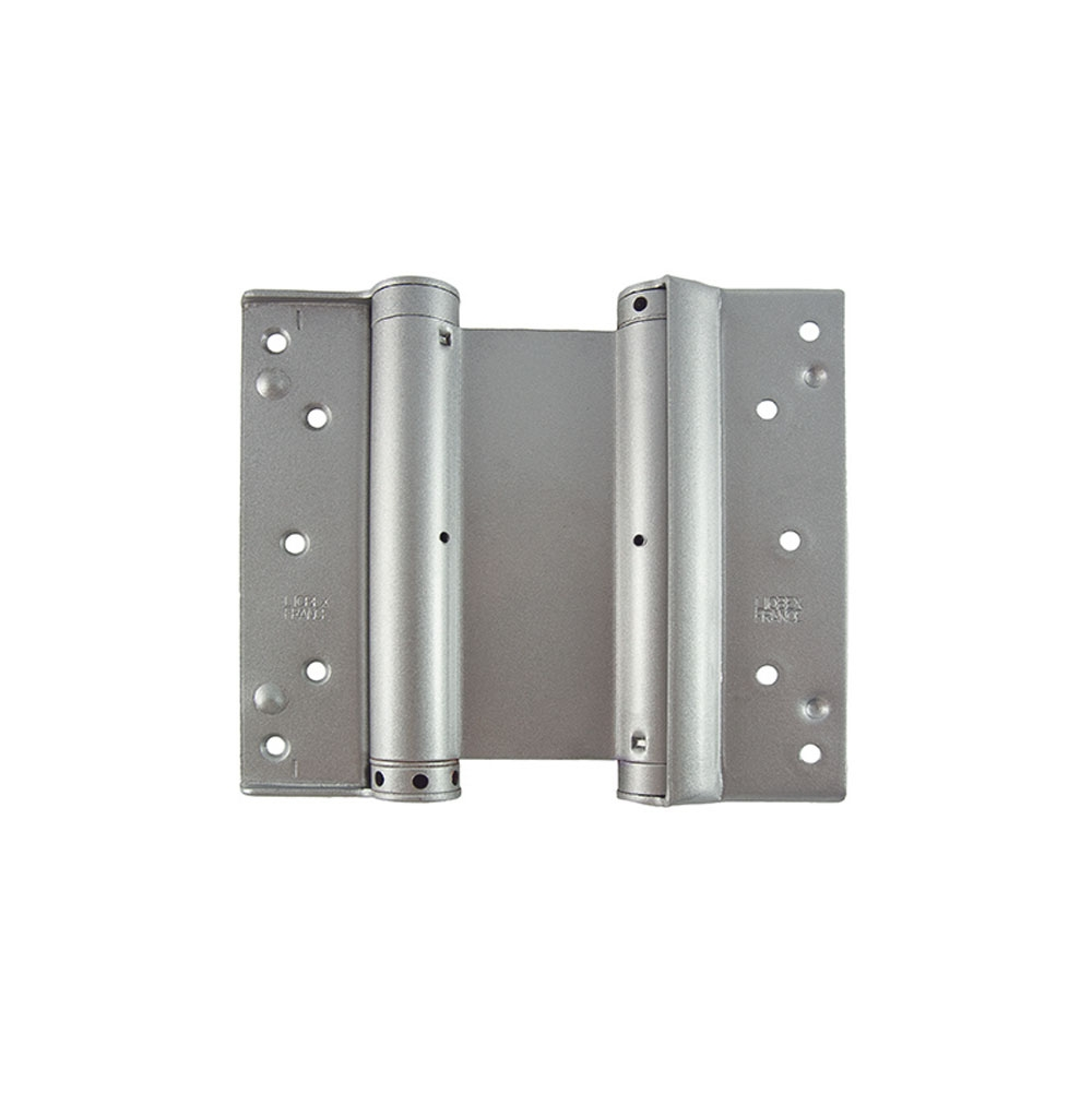 7Inch/178mm Double Action Hinge Silver - Pair