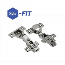 Contract 90° Clip Hinge c/w Plate - Pair
