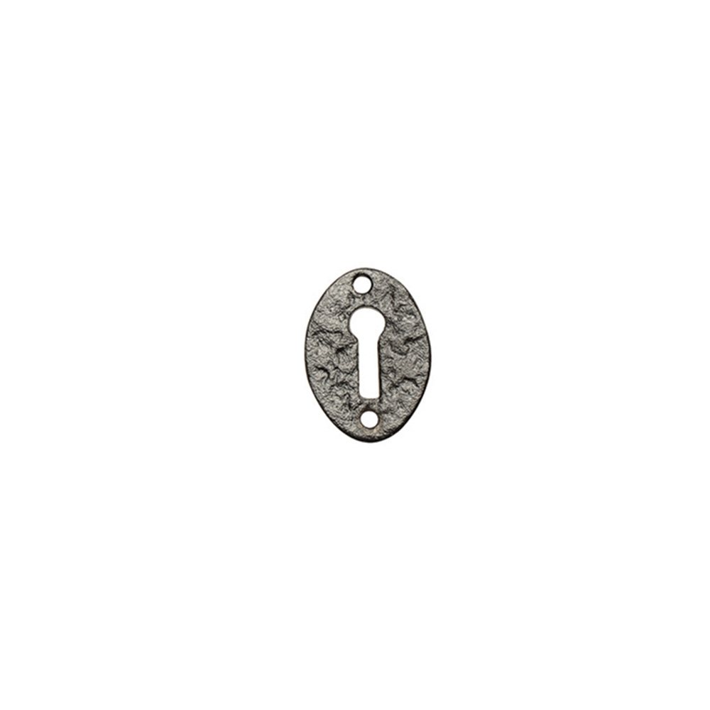 Kirkpatrick Keyhole Escutcheon Black Antique
