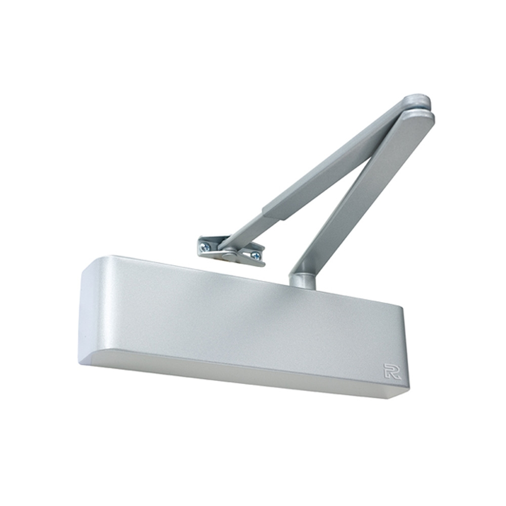Overhead Door Closer Silver Adj. Size 2-4