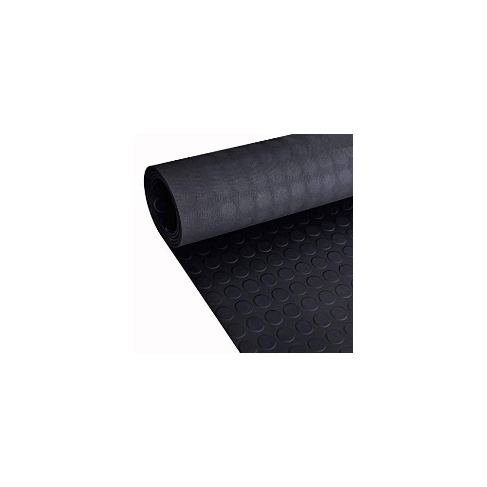 Twin Wall Polypropylene Floor Protection Roll - Black - 50m x 1m x 2mm