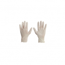 Disposable Latex Gloves - Large - Box of 100 Pairs