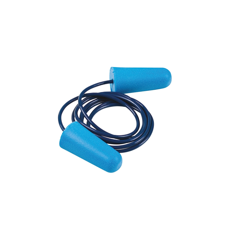 Disposable Foam Ear Plugs Corded  - 25 Pairs