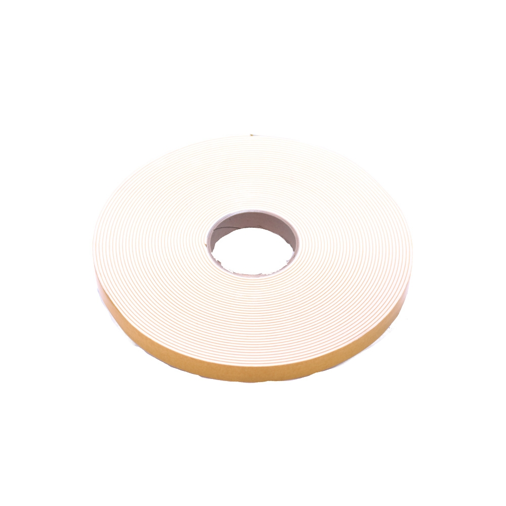 Security Glazing Tape 18 x 2mm - White - 25m Roll