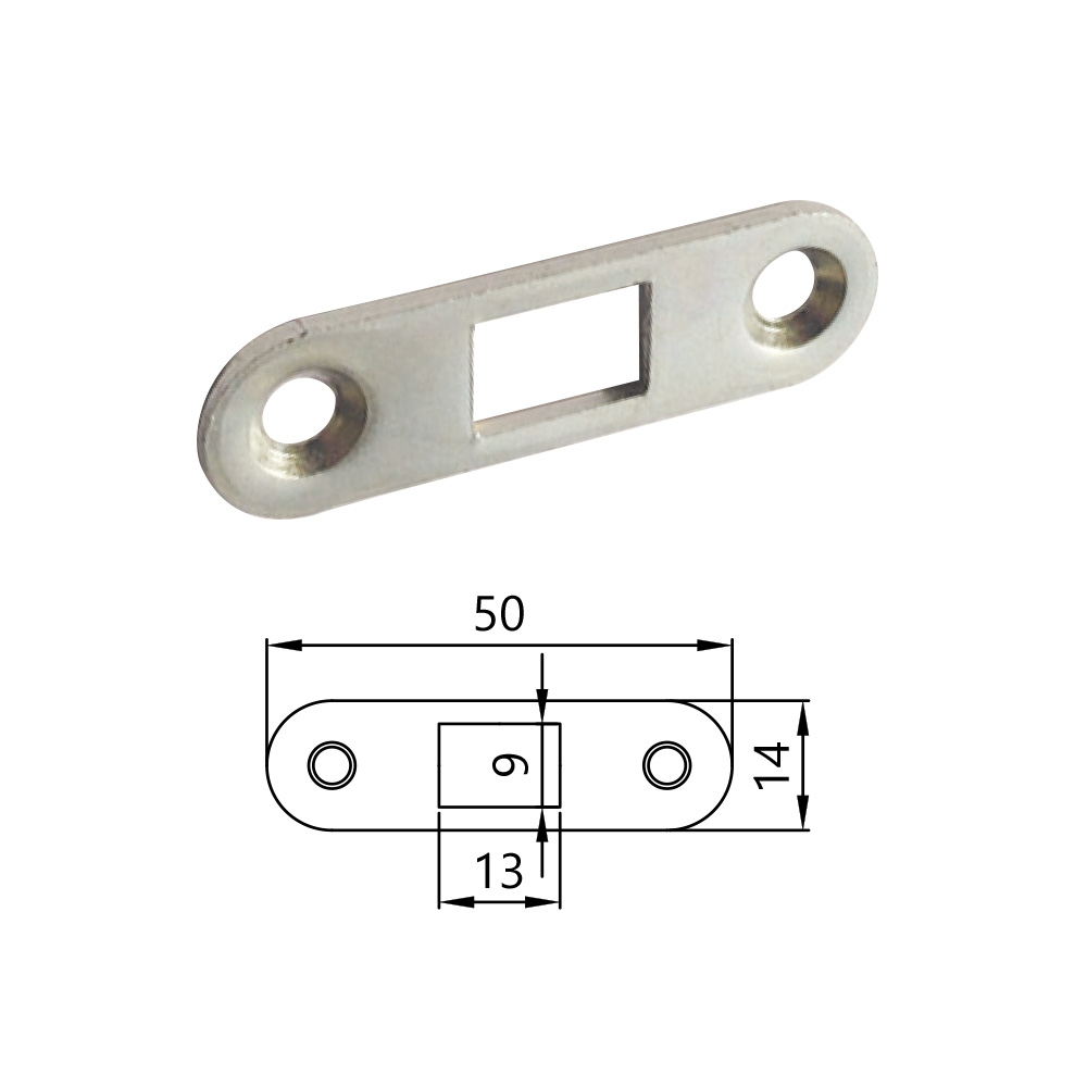 ERA® Multi-Point Lock French Door Shoot Bolt Keep