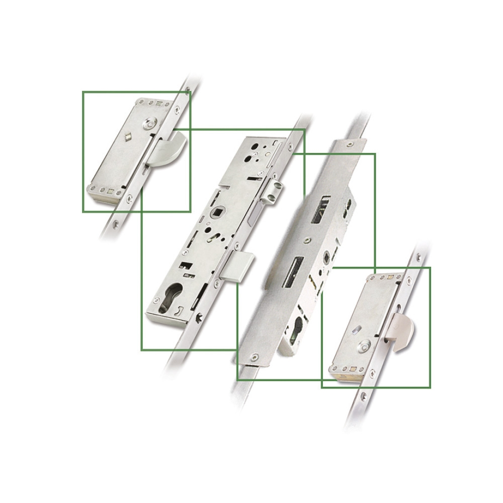 ERA® French Door Master Multi-Point Lock - 45mm Backset