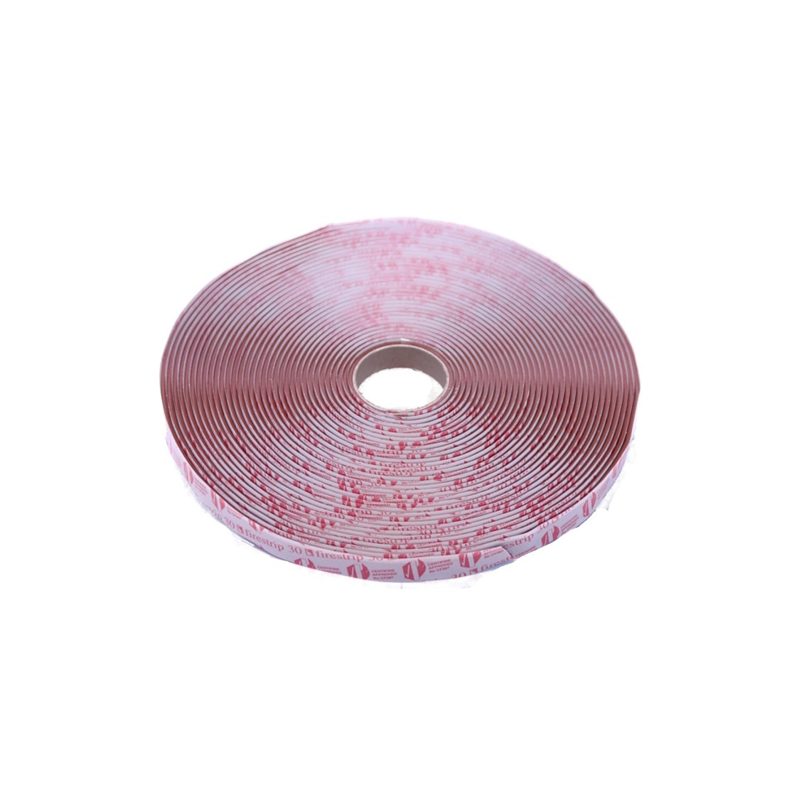 Flexistrip Firestrip 30 12x3mm Mahog Glazing Strip (15m Reel)