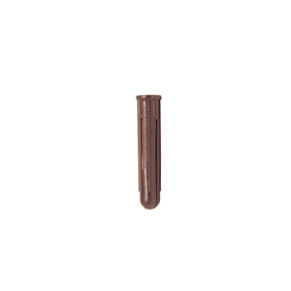 Brown Plastic Wall Plugs