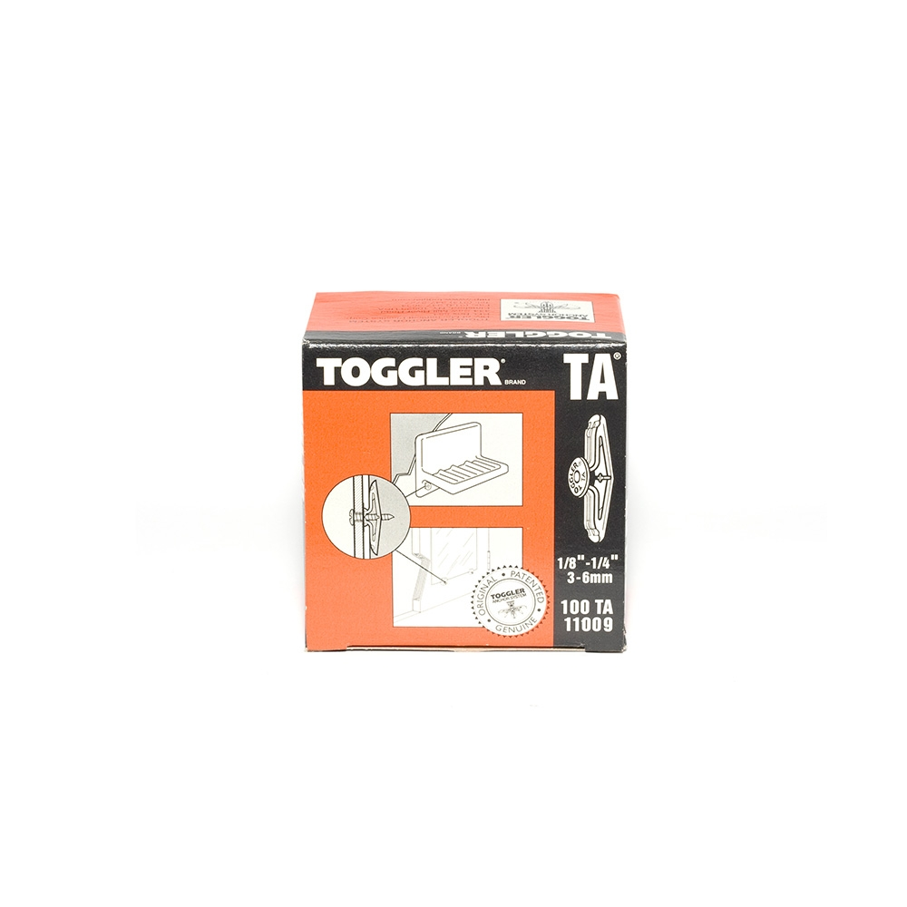 Toggler TA Hollow Wall Anchor 3 - 6mm - (Pkt/100)