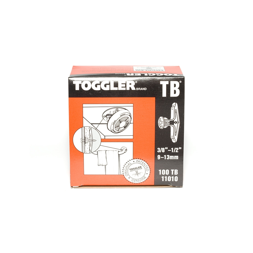 Toggler TB Hollow Wall Anchor 10 - 13mm (100)