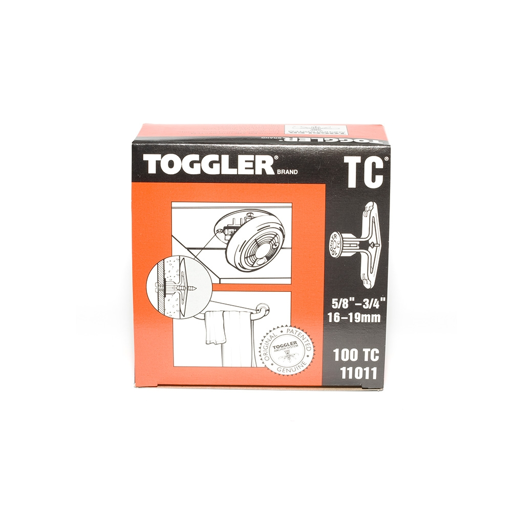 Toggler TC Hollow Wall Anchor 16 - 20mm (100)