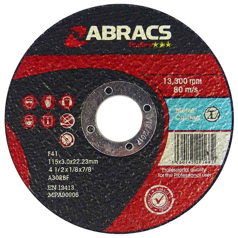 Metal Flat Cutting Discs 300 x 20mm