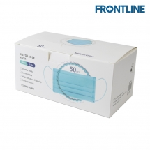 Frontline 3-Ply Disposable Civilian Face Mask (pk/50)